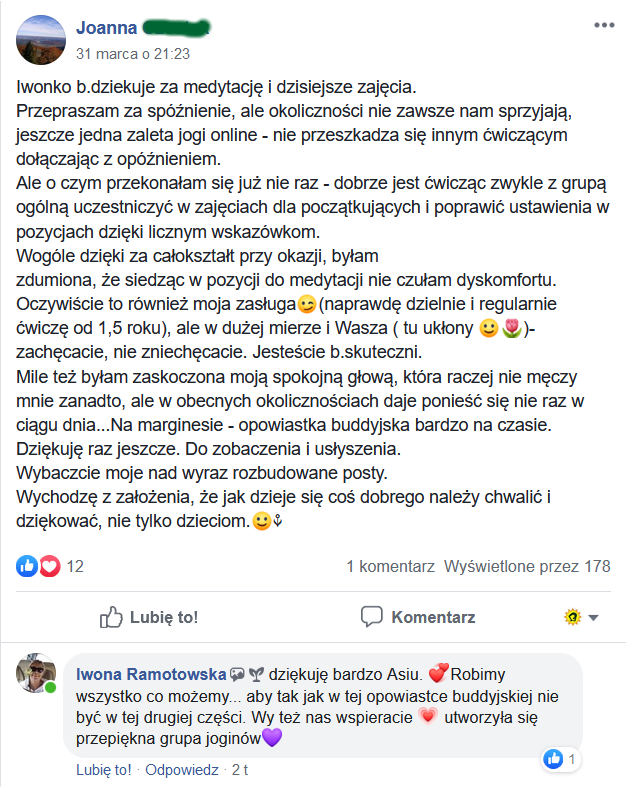 Opinie hathajoga online
